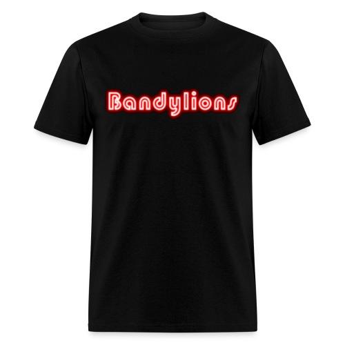 Bandylions glow t-shirt - Men's T-Shirt