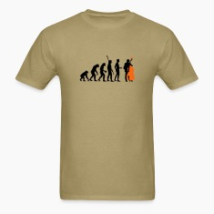 Khaki evolution_bass_2c T-Shirts