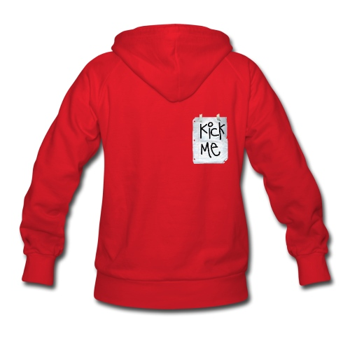 Women's kickk me hoodie - Women's Hoodie