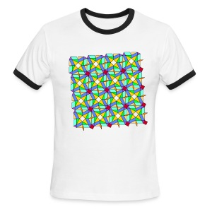 Tessellation 7 - Men's Ringer T-Shirt