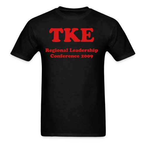 Men's T-Shirt - TKE on Front