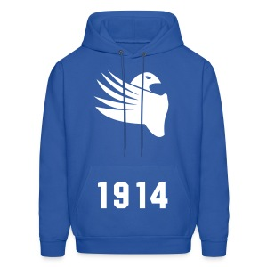 PBS White Dove 1914 Hoodie (Design On Back Also) - Men's Hoodie