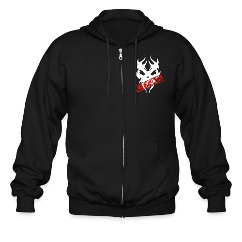 Dead Time Zip Up Hoddie - Men's Zip Hoodie