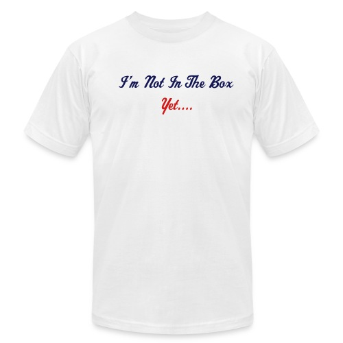 I'm Not In The Box - Men's  Jersey T-Shirt