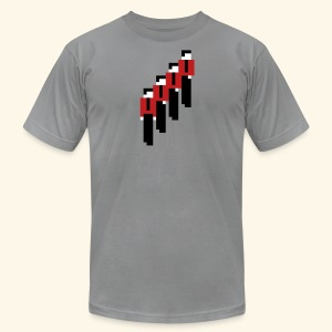 8-Bit-Manmachines - Men's T-Shirt by American Apparel