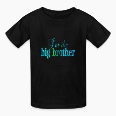 Black I'm the BIG BROTHER Kids' Shirts