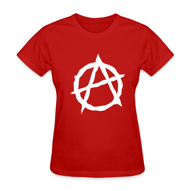Red Anarchy Women's T-Shirts