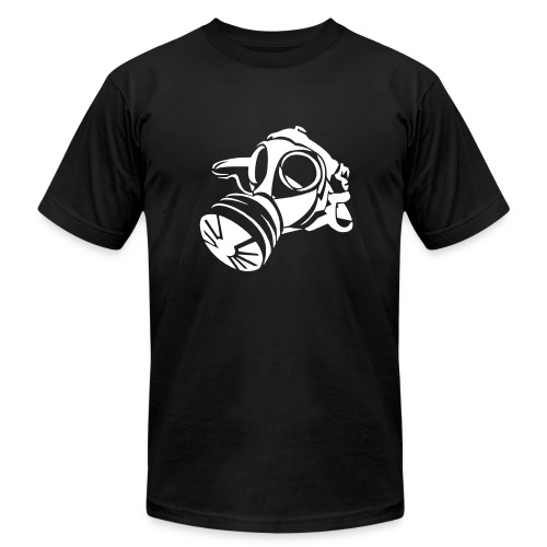Hardc0re Fatality Gas mask - Men's  Jersey T-Shirt