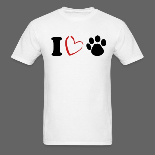 I love Pets T-Shirt - Men's T-Shirt