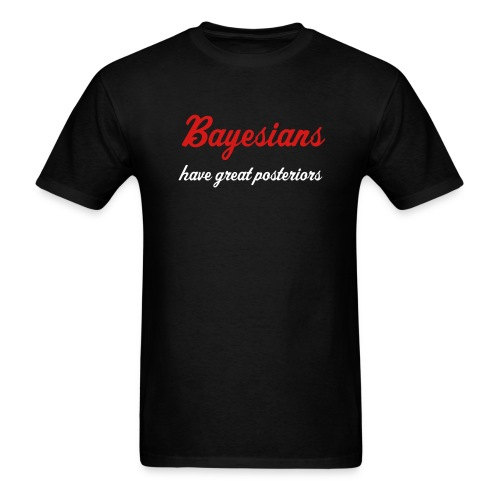 Bayesians have great posteriors - Men's T-Shirt