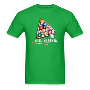 Ball Breaker Custom Pool Themed T-shirt - Men's T-Shirt
