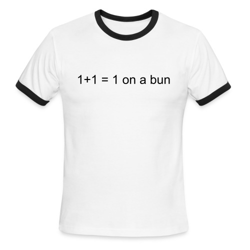 1+1 - Men's Ringer T-Shirt