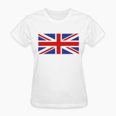 White uk flag Women's T-Shirts