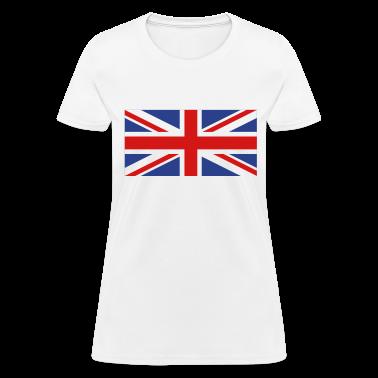 White uk flag Women's T-Shirts