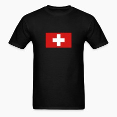 Black switzerland T-Shirts