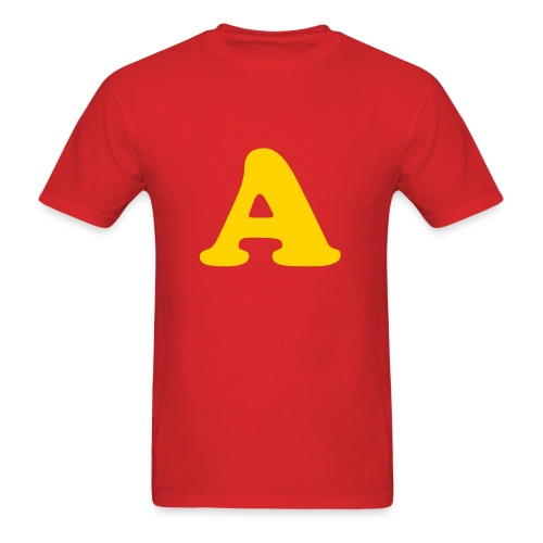 Alvin the Chipmunk Red (MENS) - Men's T-Shirt