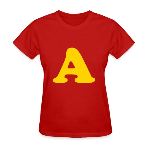 Alvin the Chipmunk Red (WOMENS) - Women's T-Shirt