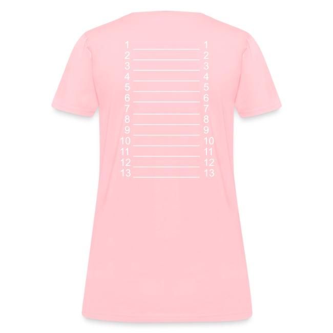 I ♥ Hairlista Length Shirt SL+
