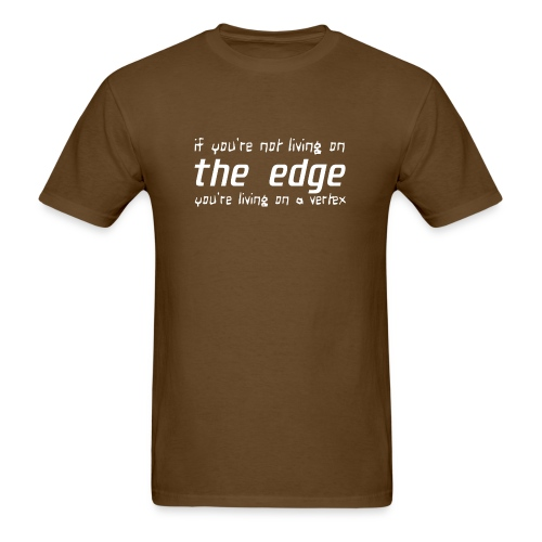 Life on the edge - Men's T-Shirt