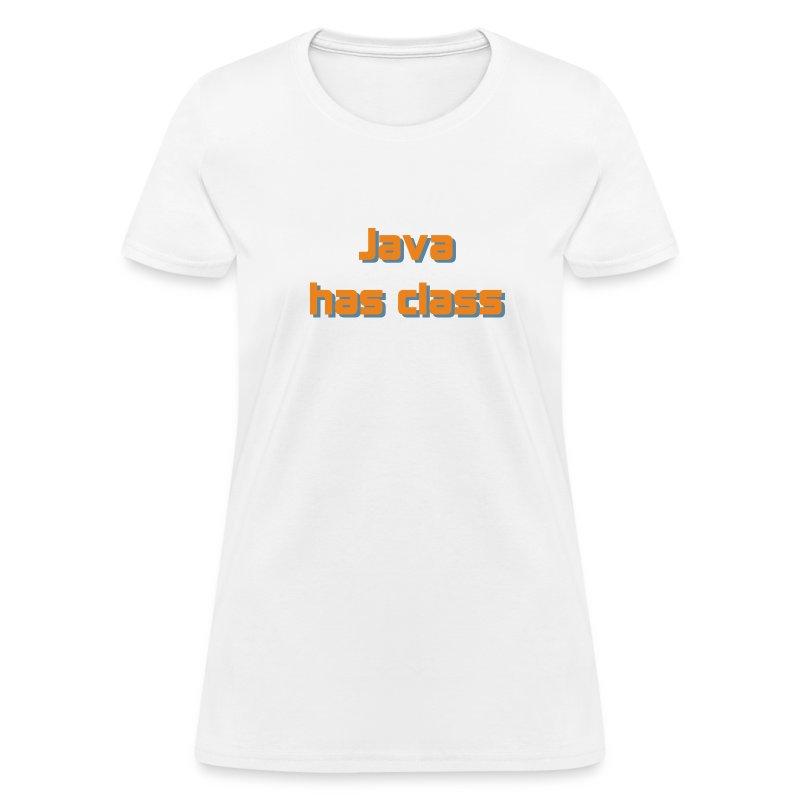 Java has class - Women's T-Shirt