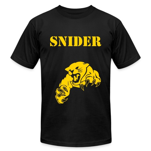 Snider Panthers design tee - Men's Fine Jersey T-Shirt