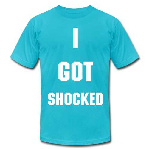 I Got Shocked - Men's AA Tee - Men's  Jersey T-Shirt