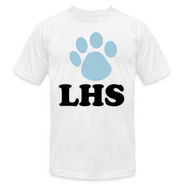 Paw Print Customizable School T-shirt