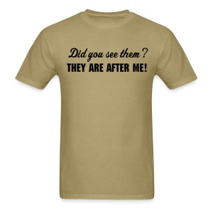 Men's Did you see them? - Men's T-Shirt
