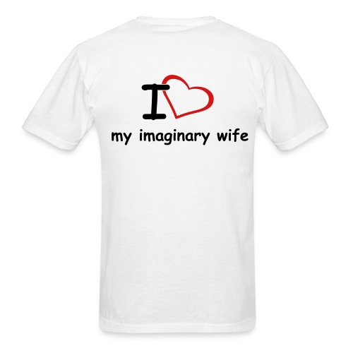 Imaginary wife - Men's T-Shirt