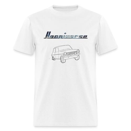 Hooniverse T-Shirt with Emblem and Car - Men's T-Shirt