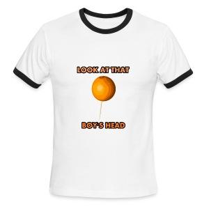 Orange on a Toothpick - Men's Ringer T-Shirt