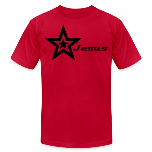 Star Jesus - Men's Fine Jersey T-Shirt
