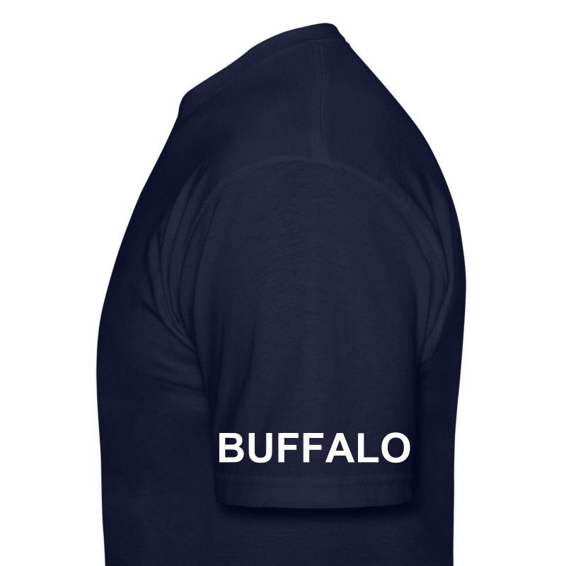 buffalo proud sleev txt t all t shirt spreadshirt. Black Bedroom Furniture Sets. Home Design Ideas