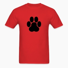 Red paw T-Shirts
