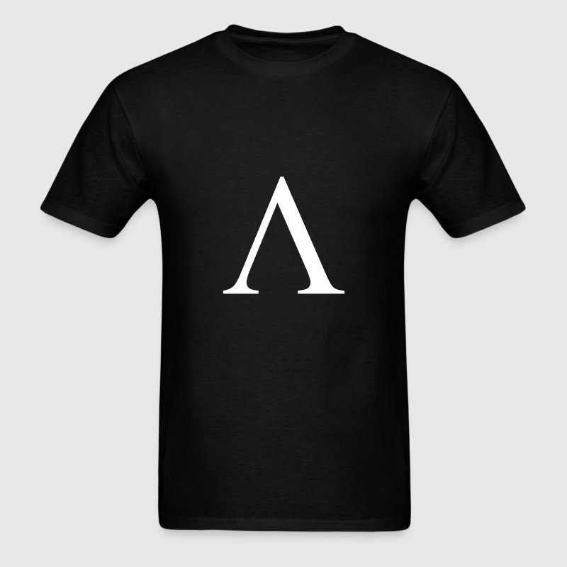 Black lambda  T-Shirts - Men's T-Shirt