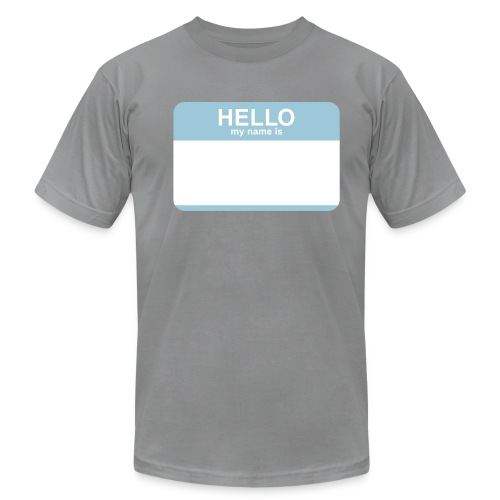 CF Hello - My Name is AWESOME - Men's  Jersey T-Shirt