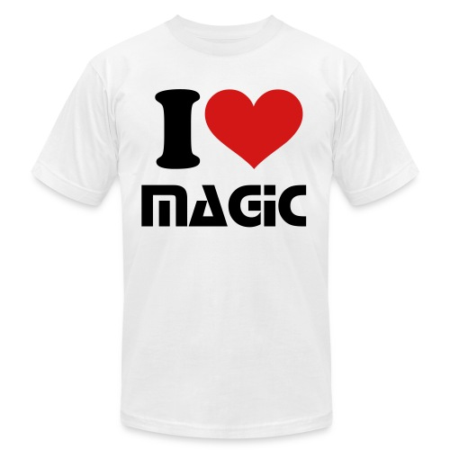 I LOVE MAGIC - Men's  Jersey T-Shirt