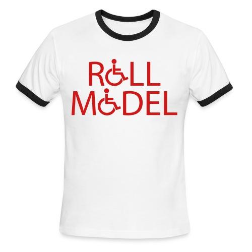 Roll Model Shirt - Men's Ringer T-Shirt