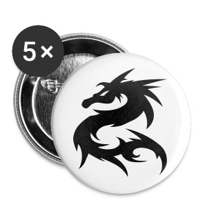 Dragon Badges - Small Buttons