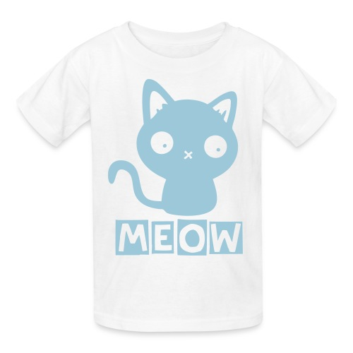 Meow Children's T-Shirt - Kids' T-Shirt