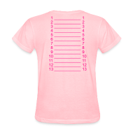 Women's T-Shirts ~ Women's T-Shirt ~ Plain Length Shirt SL+