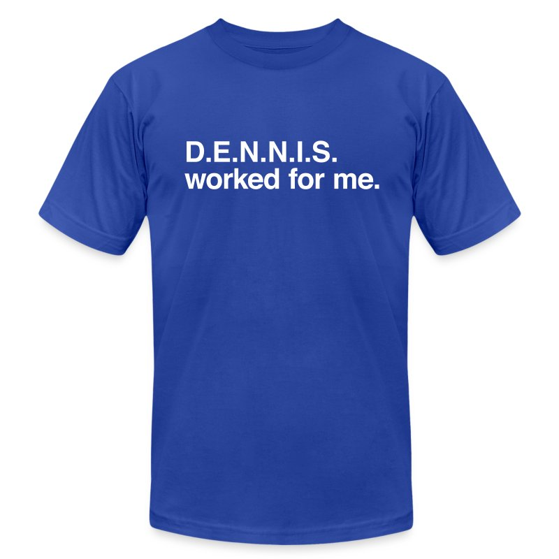dennis - Men's T-Shirt by American Apparel