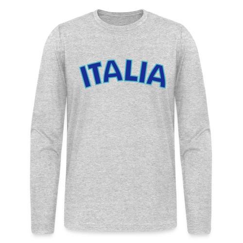 ITALIA logo AA Long Sleeve T, White - Men's Long Sleeve T-Shirt by Next Level