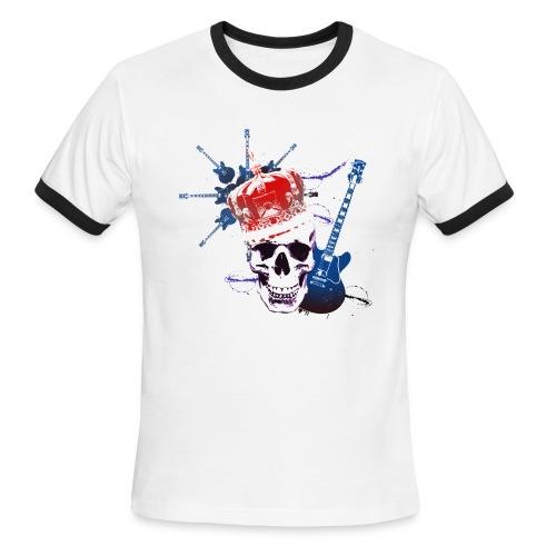 Death Guitar - Men's Ringer T-Shirt