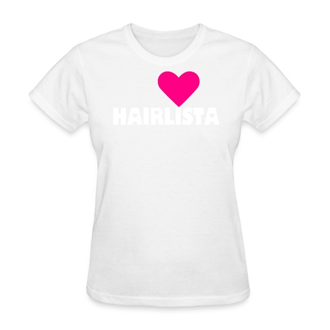 I ♥ Hairlista Length Shirt APL+