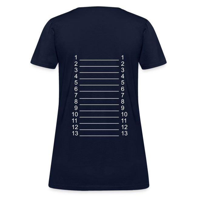 I ♥ Hairlista Length Shirt APL+