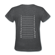 Women's T-Shirts ~ Women's T-Shirt ~ Plain Length Shirt APL+