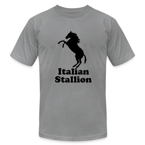 Italian Stallion AA T, Slate - Men's  Jersey T-Shirt