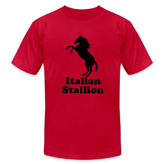 Italian Stallion AA T, Light Blue