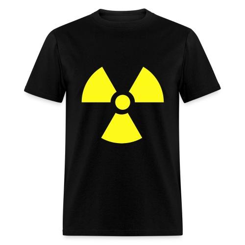 Radioactive Black Shirt - Men's T-Shirt